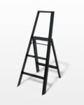 Front view thumbnail of 4 Foot Black Baldwin Ladder