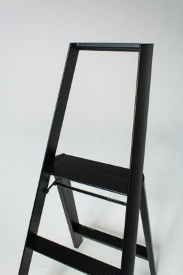 Alternate view 2 of 4 Foot Black Baldwin Ladder