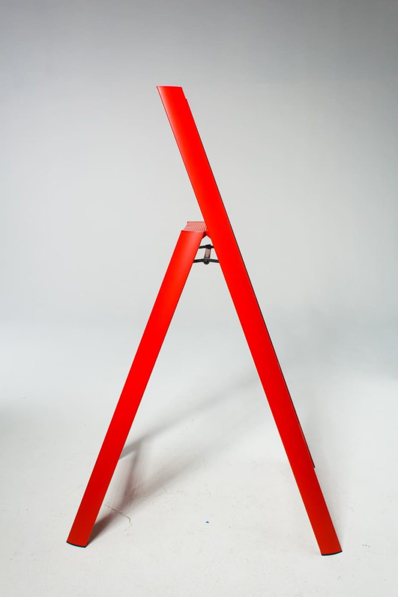 Alternate view 1 of 5 Foot Red Gala Ladder