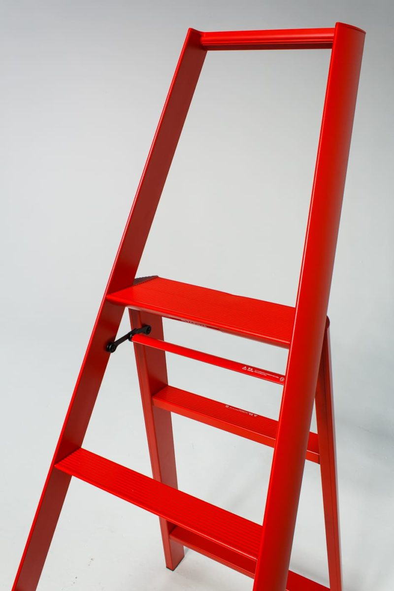 Alternate view 2 of 5 Foot Red Gala Ladder
