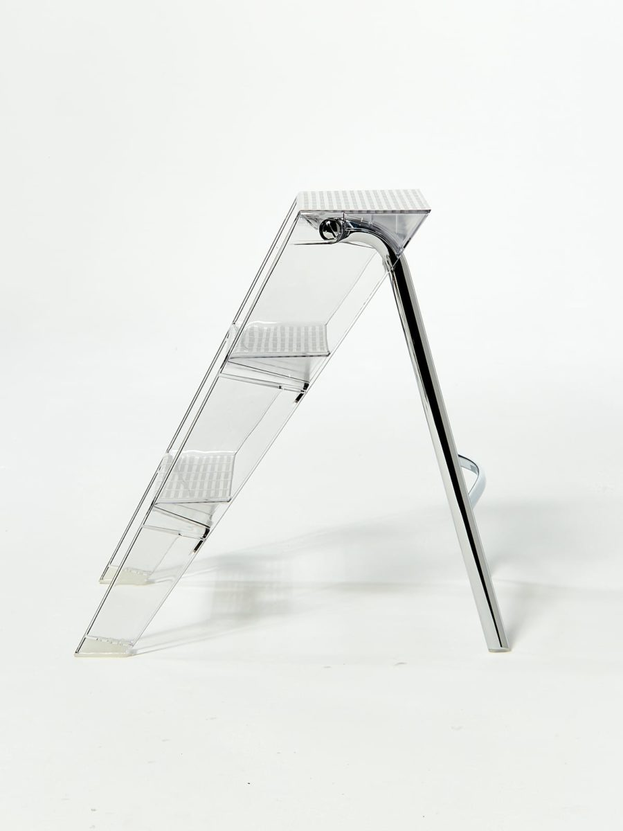 Alternate view 2 of Transparent Step Ladder