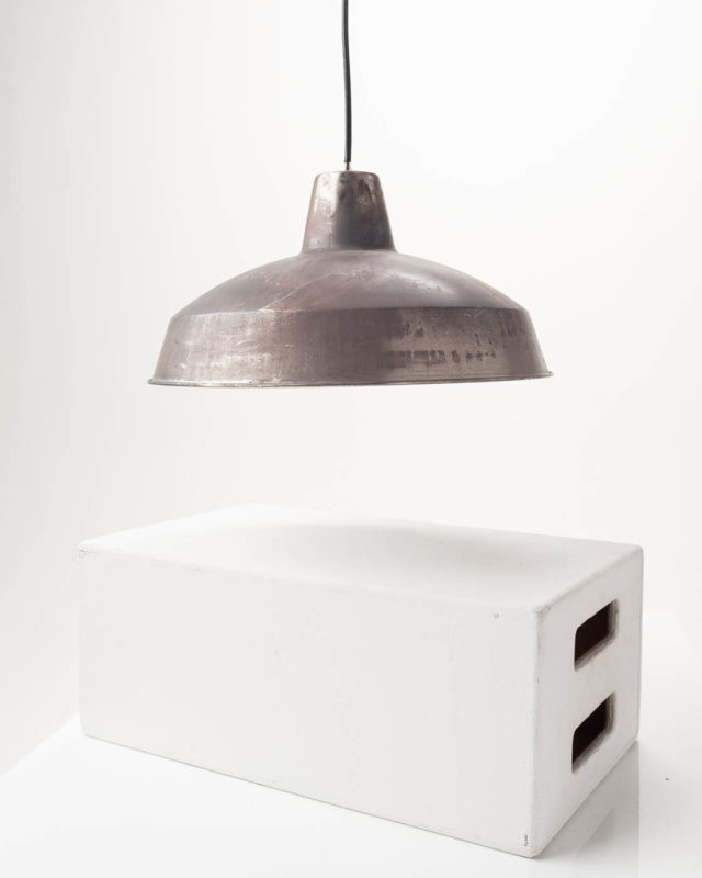 Front view of Aluminum Factory Pendant Lamp