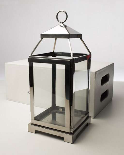 Front view of Silver Lantern