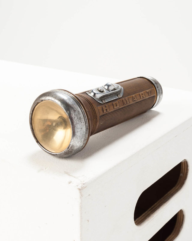 Front view of Alden Flashlight
