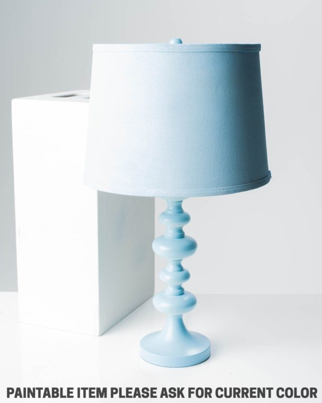 Front view of Paintable Pryce Lamp