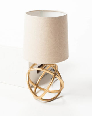 Front view of Orb Accent Lamp