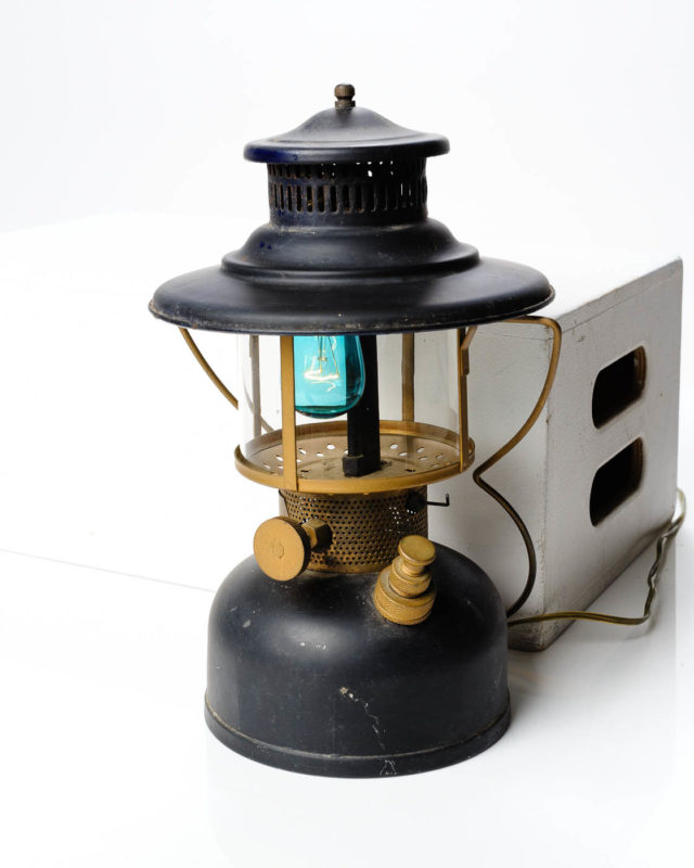 Front view of Ranger Electric Lantern