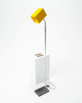 Front view thumbnail of Yellow Cube Floor Light