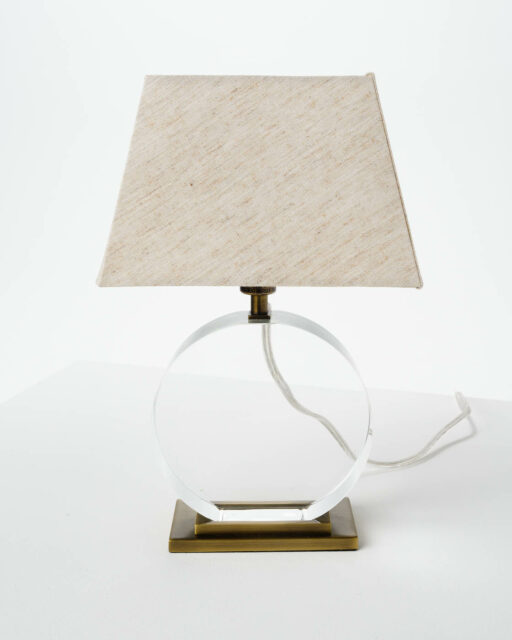 Alternate view 1 of Transparent Accent Lamp
