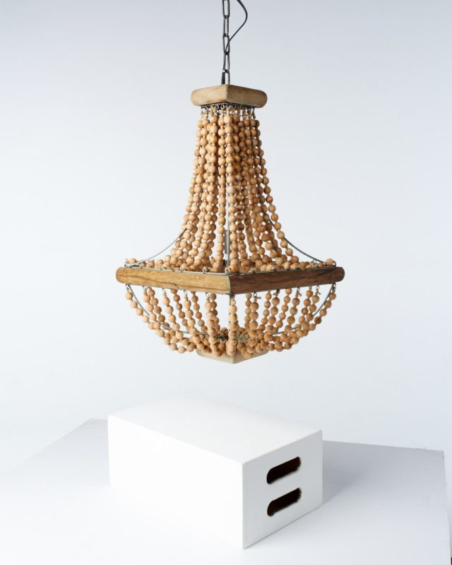 Front view of Jericho Chandelier