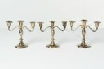 Alternate view thumbnail 2 of Orchid Candelabra Set