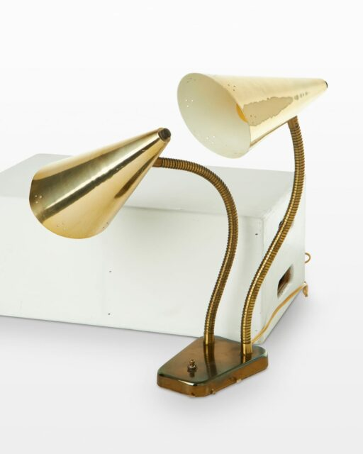 Front view of Helbo Adjustable Cone Lamp
