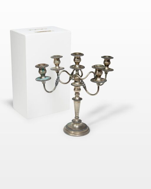 Front view of Cooper Candelabra