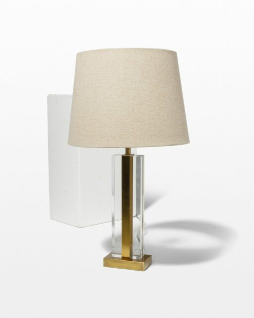 Front view of Charles Table Lamp