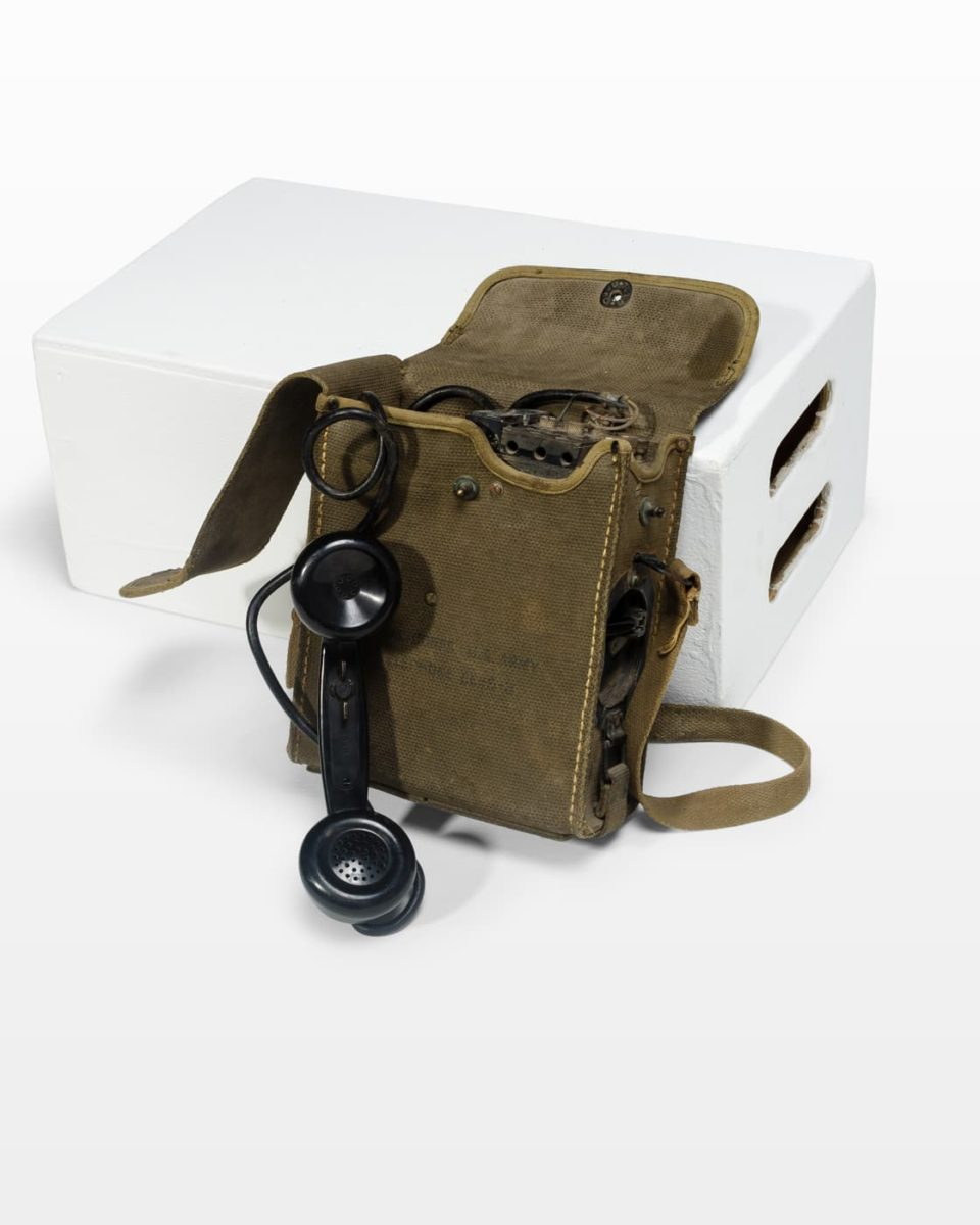 Front view of Bunker Portable Phone