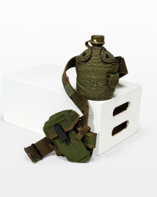 Front view of Double Utility Pouch