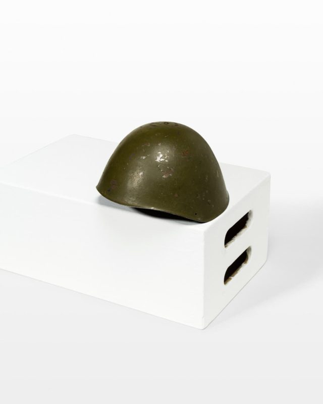 Front view of Clifton Military Helmet