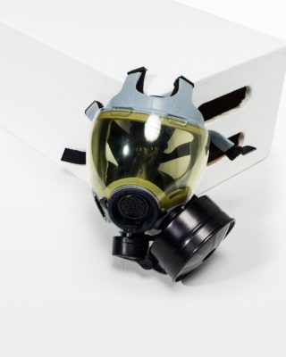 Front view of Utility Gas Mask