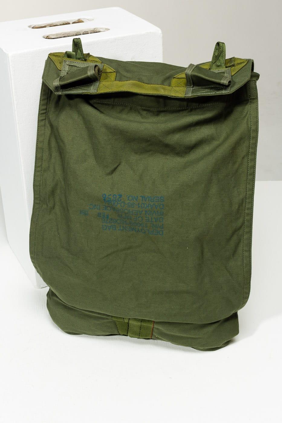 Mt018 Infantry Parachute Bag Prop Rental Acme Brooklyn
