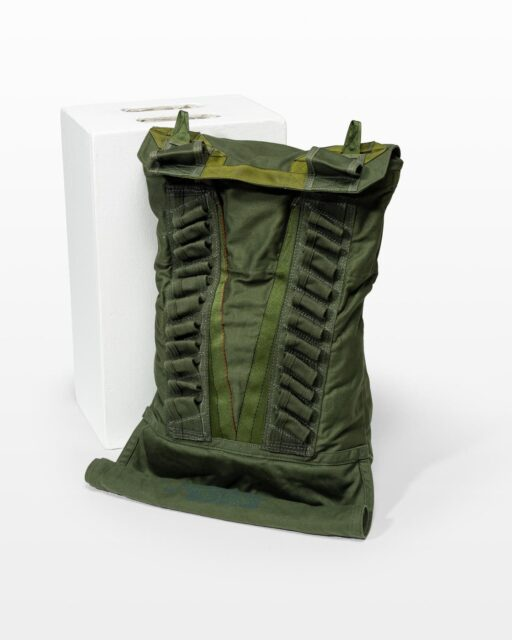 Front view of Infantry Parachute Bag