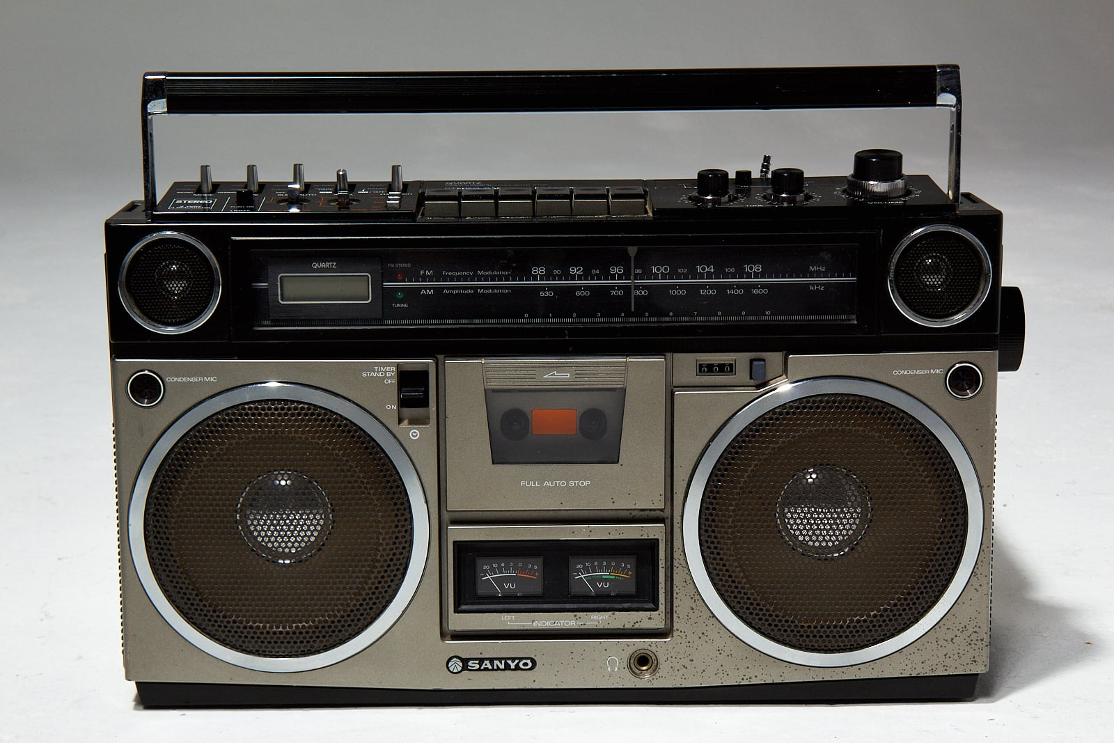 Mu004 Vintage Boombox Prop Rental Acme Brooklyn