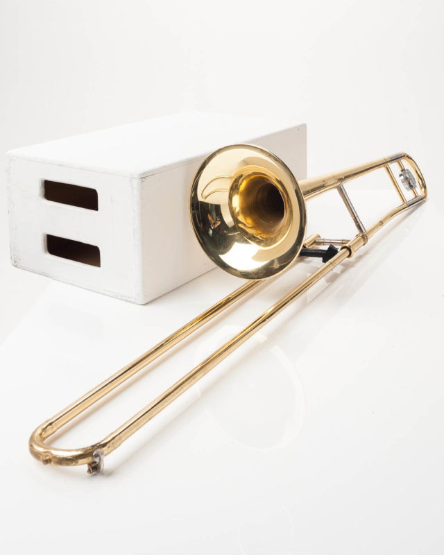 Front view of Trombone