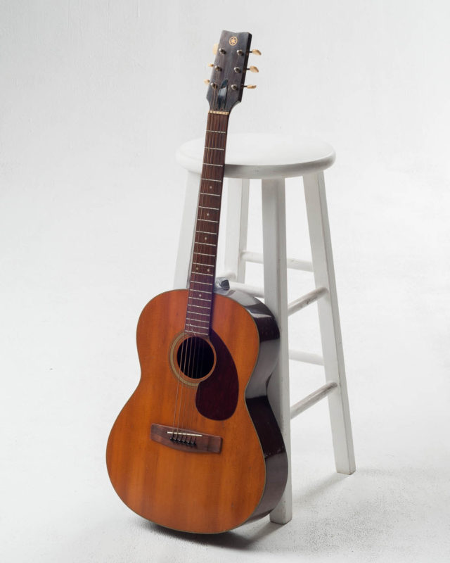 Front view of Thomas Acoustic Guitar