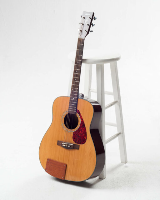 Front view of Miles Acoustic Guitar