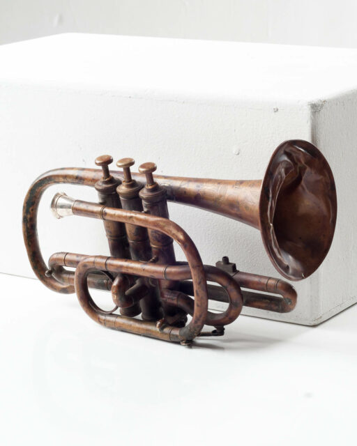 Front view of Herald Trumpet