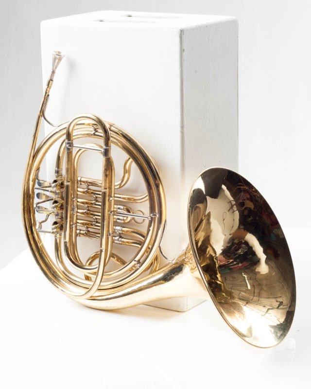 Front view of Dunbar French Horn