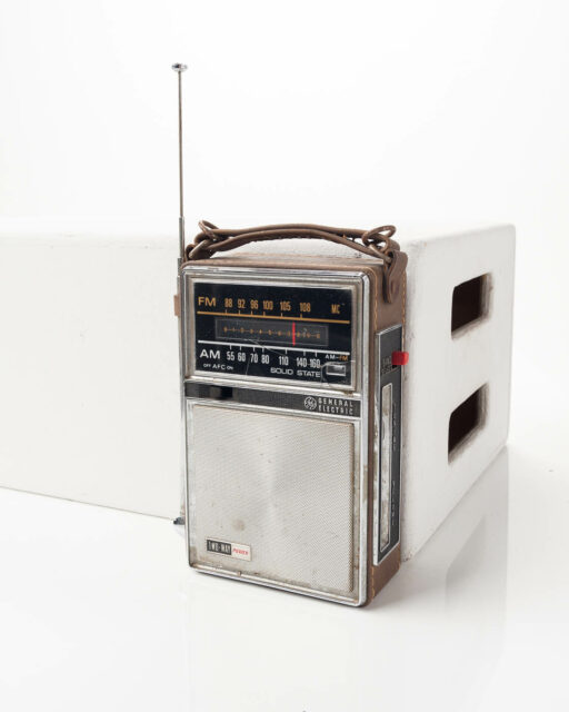 Front view of Tune Transistor Radio