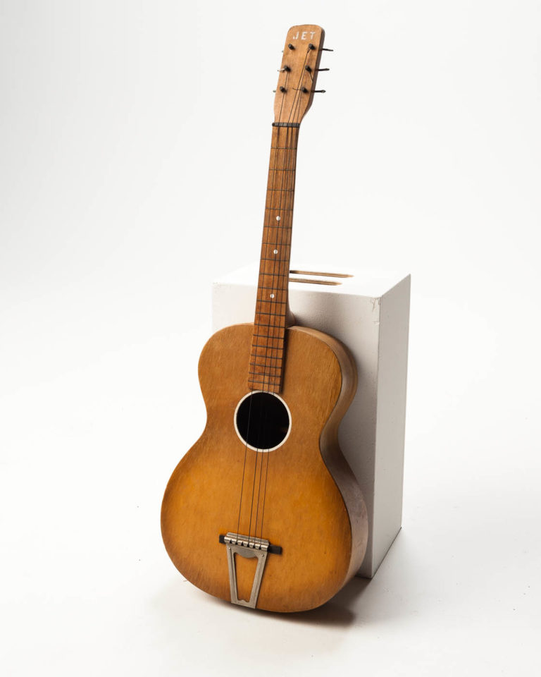 Front view of Jet Acoustic Guitar