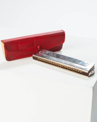 Front view of Wilson Harmonica