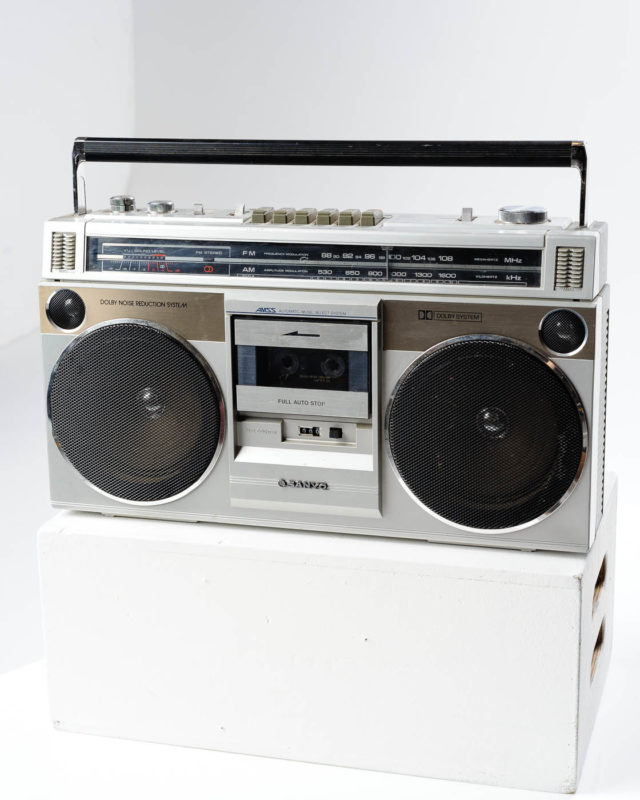 Front view of Ice Boom Box