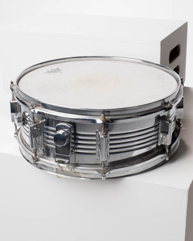 Front view of Chrome Drum