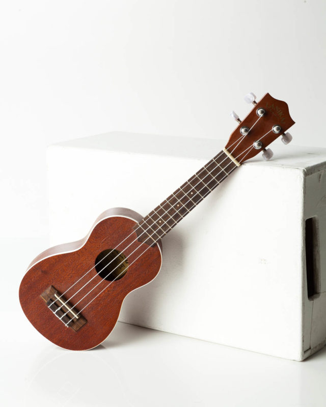 Front view of Rachel Ukelele