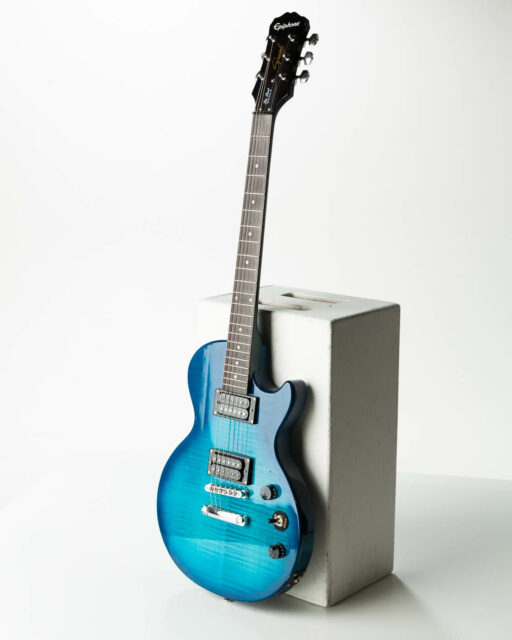 Front view of Sky Electric Guitar