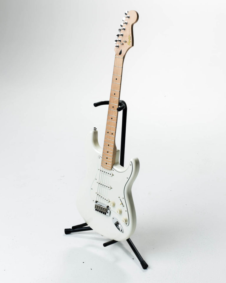 Front view of Ashford Squire Stratocaster