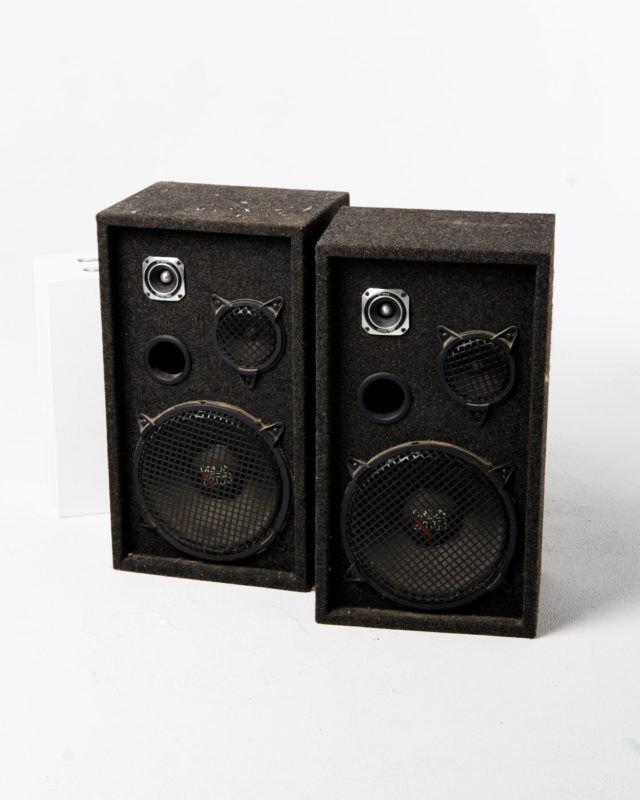 Front view of Marley Speaker Set