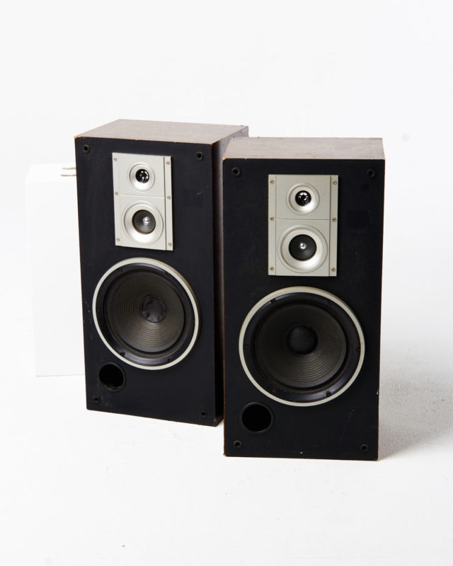 Front view of Ace Speaker Set