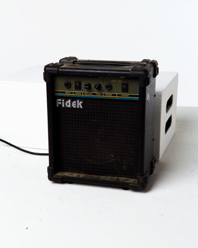 Front view of Junior Amp