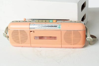 Alternate view 1 of Pink Lady Casette Radio