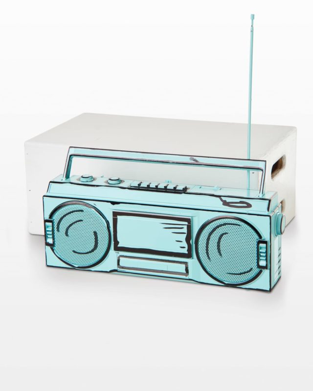 Front view of Sketch Boombox
