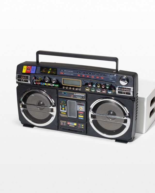 Front view of Missy Boombox