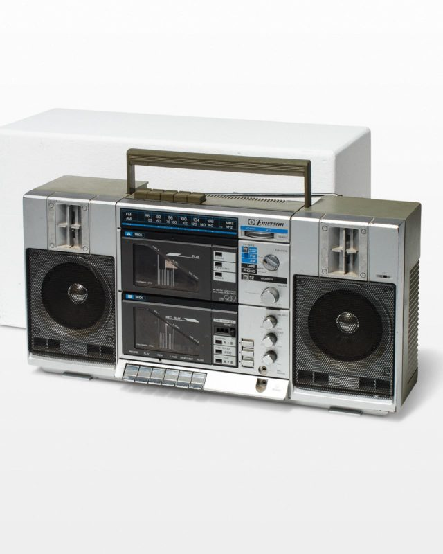 Front view of Jada Boom Box