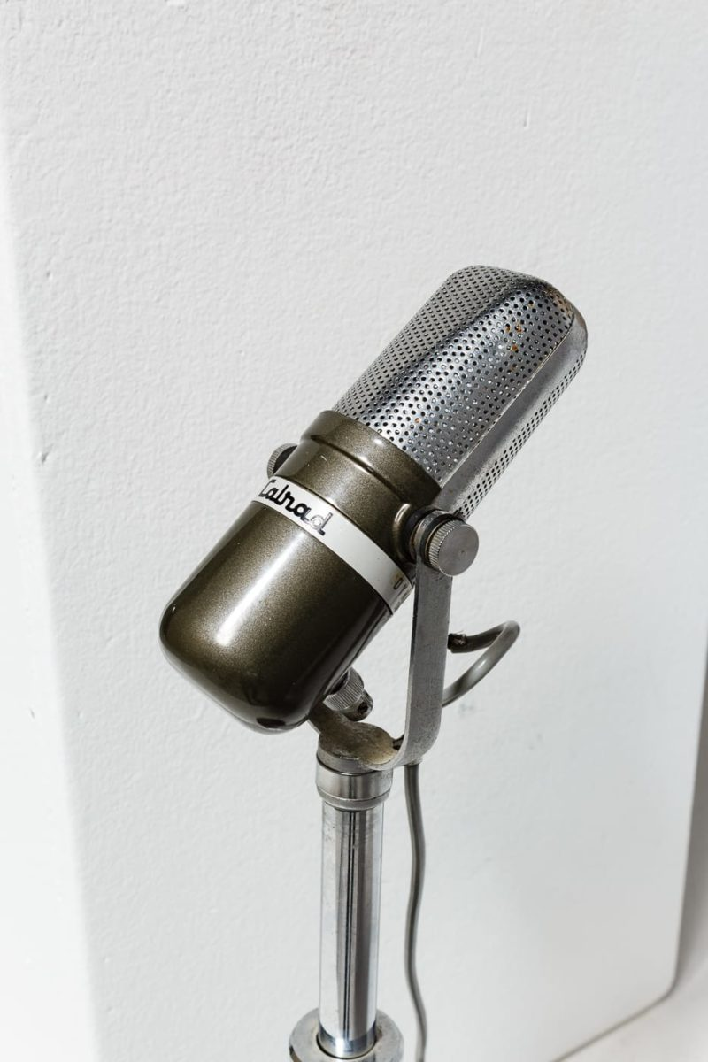Alternate view 1 of Parr Tabletop Microphone