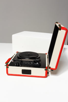 Alternate view 2 of Suitcase Portable Record Player