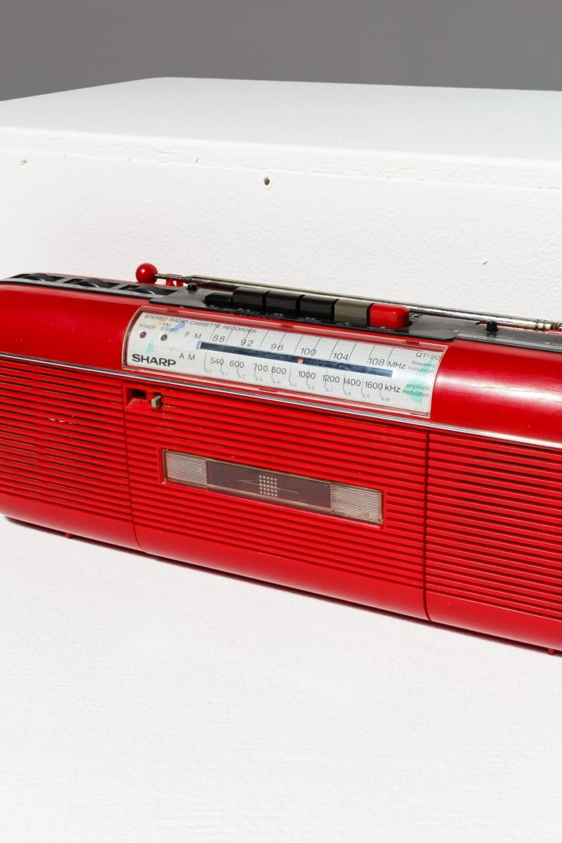 Alternate view 1 of Cherry Cassette Radio