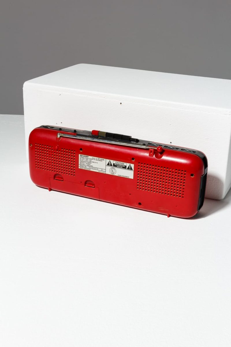 Alternate view 2 of Cherry Cassette Radio