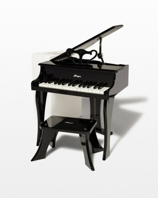 Front view of Miniature Baby Grand Piano